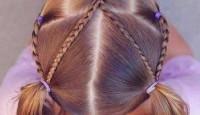 Kız Çocukları için Yapılabilecek Saç Şekilleri