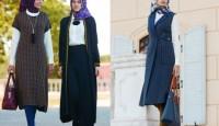 Klasik Tesettür Giyim Kombinleri