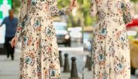 Tesettür Giyimde Günlük Elbise